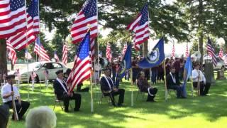 Memorial Day Ceremony 2017 Hartley, IA
