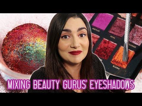 Mixing Every Beauty Guru s Eyeshadow Palette Together
