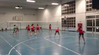 Under 14 Femminile: Benedetto Volley Cento - A.S.D. Polisportiva Sant'Agostino 2011 (14-11-2016)