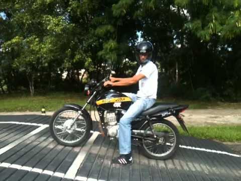 Autoescola OK Treinando para prova Detran Moto