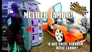 MULHER JAMBO + CARRO TUNING - O QUE VOCÊS ACHARAM DESSE CARRO ?