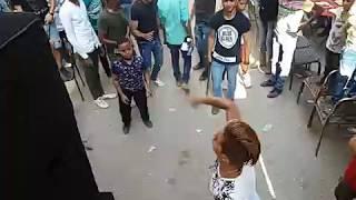 رقص دق  فاجر صالح فوكس ومعتصم فوكس وميمو بوم  في تنجيد في امبابة مولعين الدنيا