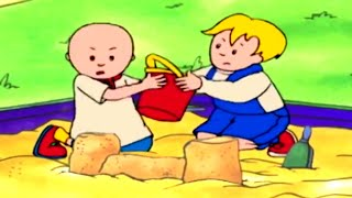 Funny Animated cartoon | Caillou hates to share | WATCH CARTOON ONLINE | Cartoon for Children