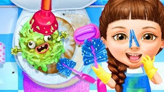 Fun Baby Care Sweet Baby Girl Cleanup 5 - Messy House Makeover Kids Game - Cleaning Games For Girls