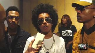 Mindless Behavior Interview at BET Experience