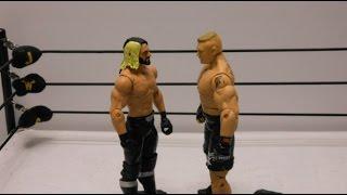 JWS - Seth Rollins vs Brock Lesnar (Extreme Rules Match)