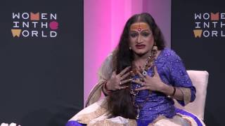 Indian activist Laxmi Narayan Tripathi on the third gender