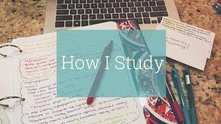 How I Study For Nursing School