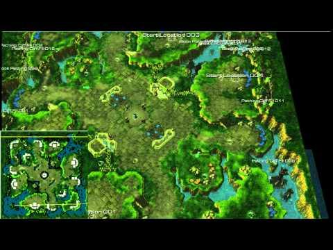 [SC2D54] Jeudi Newbie - Maps