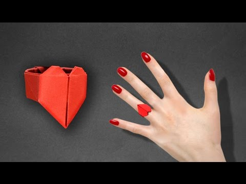 Xxx Mp4 How To Make An Origami Heart Ring Instructions In English BR 3gp Sex
