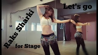 "Let's be Elegant - Oriental Tutorial ""Raks Sharki"" Dance - Choreography | Lia Verra"