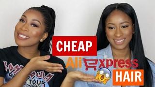 Cheap affordable hair on Aliexpress