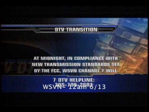 Analog Shutoff on WTVJ WFOR WLTV WSVN