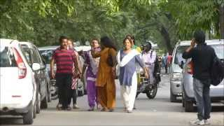 Fake Hijra  Caught and taken away by Real Hijra of the Area, New Delh   Panasonic tz30 Video