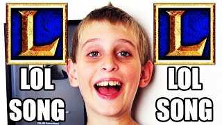 THE BEST LEAGUE OF LEGENDS SONG!!! by MISHA (FOR KIDS)