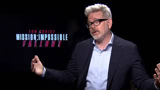 Director Christopher McQuarrie knows he can