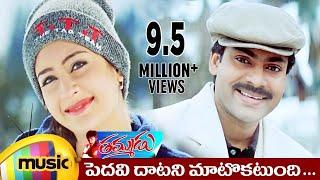 Thammudu Telugu Movie Songs | Pedavi Datani Music Video | Pawan Kalyan | Preeti | Mango Music