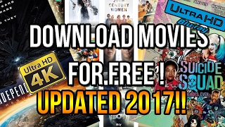 HOW TO DOWNLOAD HD MOVIES FOR FREE! [ALL MOVIES 2017]