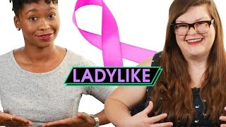 BFF's Give Each Other Breast Exams • Ladylike