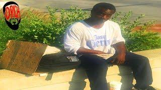 Homeless Man Breaks Down the Bible, The Black Church and True Love! D-Rich TV Vlog