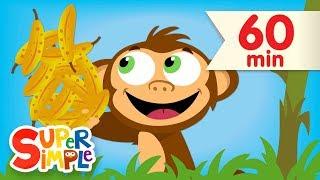 Counting Bananas + More   Kids Songs & Nursery Rhymes   Super Simple Songs