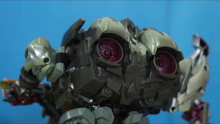 Transformers Stop Motion: Bumblebee VS Vehicon And Megatron