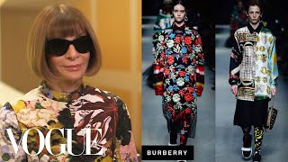 Anna Wintour on 5 Highlight Shows From London Fashion Week   Vogue