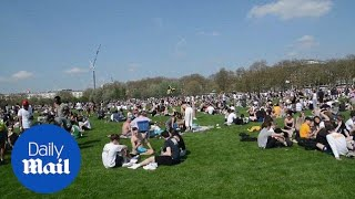 Hundreds take to Hyde Park for ¿420¿ day to smoke marijuana - Daily Mail
