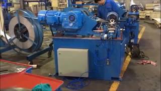 1600mm Spiral duct machine. Spiral Tubeformer machine Prima
