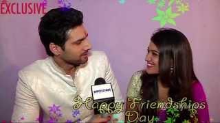 Radhika and Arjun aka Monica and Aham celebrate Friendship's Day with Tellybytes