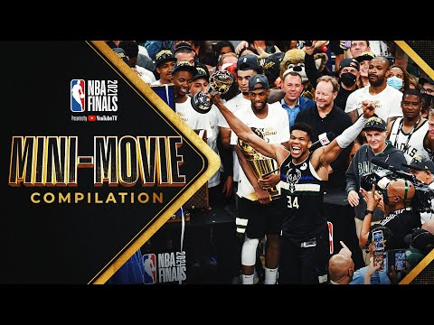 Suns vs. Bucks 2021 NBA Finals MINI MOVIE FULL Compilation 🏆