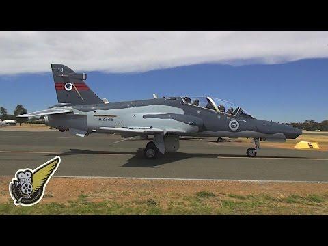 BAE Hawk 127 at Temora