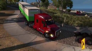 American truck simulator multiplayer   road rage, bad drivers