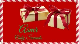 ASMR Sounds | Christmas Gift Wrapping 2016 (Only Sounds)
