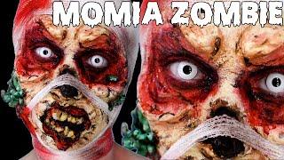 FX Momia Zombie Comic, Maquillaje Halloween / Zombie Mummy Makeup