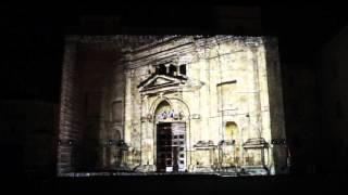 Luca Agnani Studio   Video Projection Mapping   Chiesa dI Sant'Emidio, Ascoli Piceno