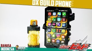 DX REVIEW - DX BUILD PHONE / ビルドフォン [Kamen Rider Build] - [BAHASA INDONESIA]