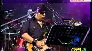 Ayub Bacchu L R B    Bangladesh Great Guitar Play Call Er Gaan Live