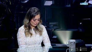الفنانة هبة مجدى تنهار من البكاء فى الاستديو وتكشف حقيقة انفصالها ؟!