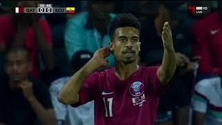 مباراة   منتخبنا الوطني 4 - 3 الاكوادور