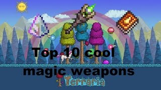 Terraria Top 10 [1.3] Cool magic weapons and Destroyer in 5 seconds