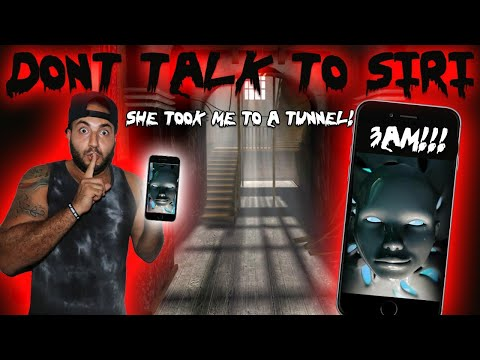 DO NOT TALK TO SIRI AT 3 AM IN CENTURY MANOR MOST HAUNTED PLACE IN CANADA TUNNELS FOUND