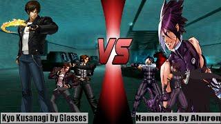 [Mugen - KOF WOJ] Kyo Kusanagi (Glasses) vs. Nameless (Ahuron)