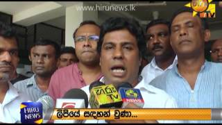 Wimal Weerawansa transferred to the National Hospital