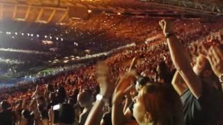 Depeche Mode Live Roma 2017 part 1  - Personal Jesus