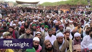 Blasphemy in Pakistan: Why do some see Mumtaz Qadri as a hero? - BBC Newsnight