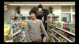 Death Note Live Action Movie 1 - Ryuks not getting apples