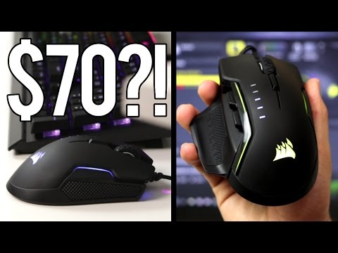 Who would buy a Gaming Mouse for 70 Corsair Glaive Review
