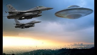 UFO Chased By The 4 Air Force Belgium, April 23, 2018, 23:15