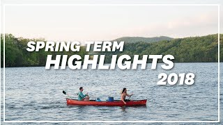 Highlights From Spring Term 2018